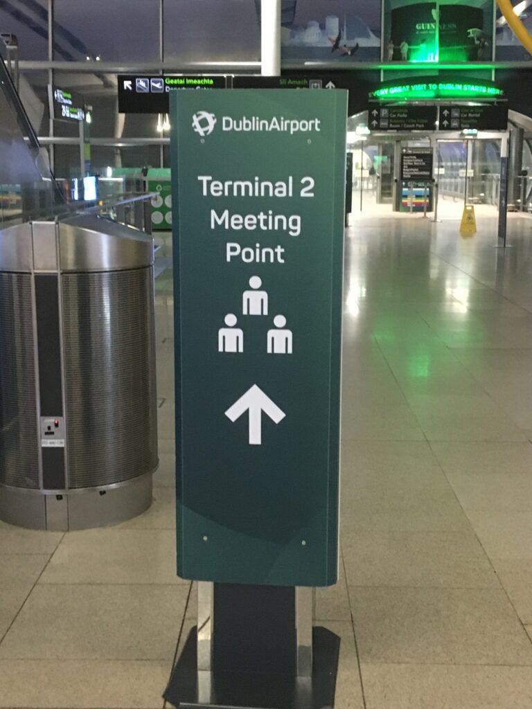Arrivals Hall T2 Dublin Airport
